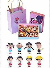 NoNo Anime Model 5 Styles-Box Figuren mit farbigen