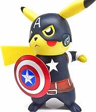 NoNo DUDDP Anime Charakter AvengersCaptainKeychain