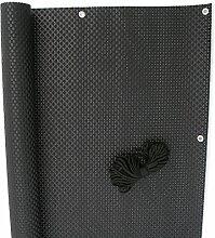 NOOR Balkonblende Exklusiv Rattan 0,90 x 3