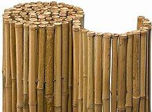 Noor Bambusmatte Deluxe Sichtschutzmatte Bambus Ø