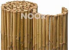 Noor Bambusrollzaun Deluxe 91*250 cm, 24-26 cm Durchmesser