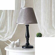 Nordeuropa,Simple,Amerikanischen,Koreanisch,Östlichen Mittelmeer,Minimalistische Schlafzimmer Nachttischlampe/Schlafzimmer,Bett,Dekorative Stoff Lampe-D
