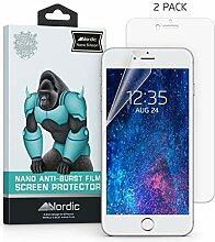 Nordic 2Pack Nano Anti-Burst Schutz Clear Film
