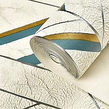 Nordic 3D Geometrische gestreifte Tapete for