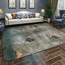 Nordic Carpet Einfache moderne Wohnzimmer Schlafzimmer Couchtisch Sofa Bedside Büro Rechteck Decke Teppich ( größe : 180cmX180cm )