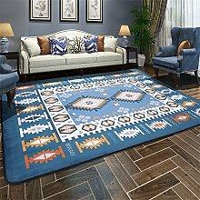 Nordic Carpet Einfache moderne Wohnzimmer Schlafzimmer Couchtisch Sofa Bedside Büro Rechteck Decke Teppich ( größe : 160cmX230cm )