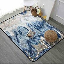 Nordic Carpet Einfache moderne Wohnzimmer Schlafzimmer Couchtisch Sofa Bedside Büro Rechteck Decke Teppich ( größe : 190cmX280cm )