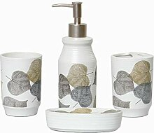 Nordic Ceramics 4-teiliges Badezimmer- und