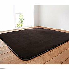 Nordic Creative Trend Teppich Modern Home Wohnzimmer Schlafzimmer Restaurant Sofa Teppich ( Farbe : Dunkelgrau , größe : 100*160cm )