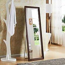Nordic Einfache Massivholz Rechteckige Spiegel