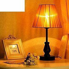 Nordic Gartenleuchte/Glühlampen,Vintage Kleine Lampe/Schlafzimmer,Bett,Lampe/American Country Tischleuchten-A