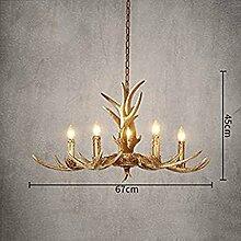 Nordic Geweih Lampe Kreative Kunstharz Geweih