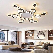 Nordic lampe LED Kronleuchter decke Braun