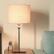 Nordic Moderne Bronze Tischlampe Nachttischlampe