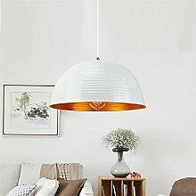 Nordic Pendelleuchte Kupfer Lampe -Vintage