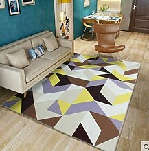 Nordic simple modern carpet sofa tisch teppich-B 80x120cm(31x47inch)