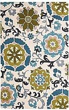Nordic Sofa Couchtisch rechteckig Teppich/ Bankett Bettdecke Schlafzimmer-F 160x230cm(63x91inch)