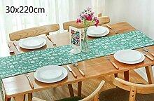 Nordic Style Rechteck Baumwolle Tischläufer