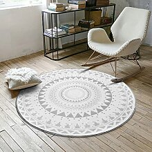 Nordic Style Runder Teppich , 3 , 100cm