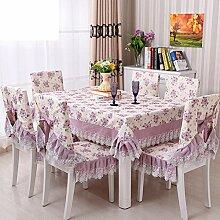 Nordic table tuch?Garten tischdecke-D 130x180cm(51x71inch)