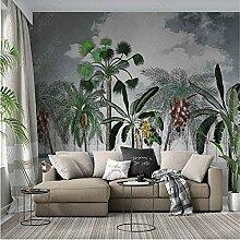 Nordic Tropische Pflanze Tapete Für Wohnzimmer