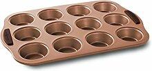 Nordic Ware Muffin-Backform für 12 Muffins,