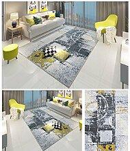 Nordic Wohnzimmer Teppiche Abstrakt lackierte