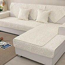 Nordisch Baumwolle Einfach Anti-Schlupf Sofa Cover