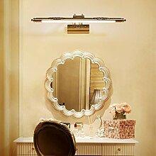 Nordisch Jahrgang Bad Spiegellampe Bronze