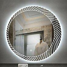 nordisch LED Beleuchtet Badezimmerspiegel, Runden