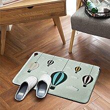 Nordische einfache kleine frische tür matte,Von mats Fußabtreter Schlafzimmer küche Toilette Anti-rutsch matte vor der tür-C 50x80cm(20x31inch)