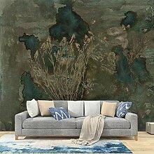 Nordische Handgemalte Abstrakte Wandbild
