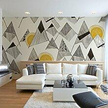 Nordische Persönlichkeit, Einfache Tapete, Wohnzimmer, Schlafzimmer, Hintergrundtapete, Umweltschutzpapier