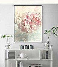 Nordischer Stil, Rose, Pfingstrose, Malerei,