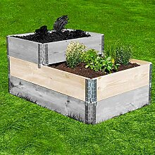 300l KOMPOSTER umweltfreundlich Komposttonne f/ür den Garten Bio-M/üll-Konverter.