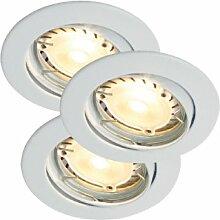 Nordlux Einbaustrahler drehbar Triton LED Hi-Power