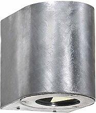 Nordlux LED Wandleuchte CANTO Außenleuchte, 2x3W