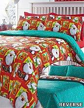 NORDPOL, Weihnachten Single Bettwäsche