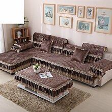 Normallack-sofa-handtuch/Plüsch-sofa-matte/Tuch Geprägtes Sofa Handtuch/Volles Sofa-handtuch/Anti-rutsch-sofa Handtuch-A 90x90cm(35x35inch)