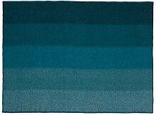 Normann Copenhagen 602421 Tint Wolldecke, Neusselandwolle, blau, 130 x 180 x 2 cm