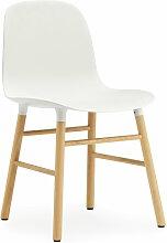 Normann Copenhagen - Form Stuhl, Eiche / weiß