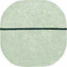 Normann Copenhagen Oona Teppich Mint Medium (l)