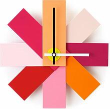 Normann Copenhagen - Watch me Wanduhr, pink