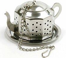 Norpro Teekanne insufer, Silber
