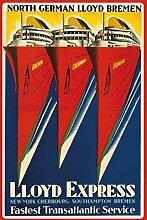 North German Lloyd Bremen- Lloyde Express -