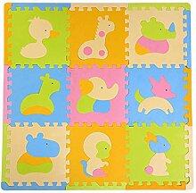 North King Baby Krabbeldecke,Kinder Puzzle Puzzle