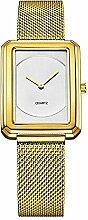 North King Goldene Armbanduhr Fashion Trend Square