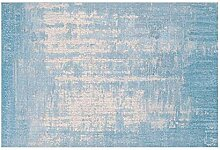 North King Teppich,Geometrische blaugrau Teppich
