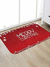 North King Weihnachten Türmatte Teppich,Fußmatte