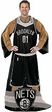 Northwest Brooklyn Nets Komfortable Wrap (Uniform) Überwurf Decke